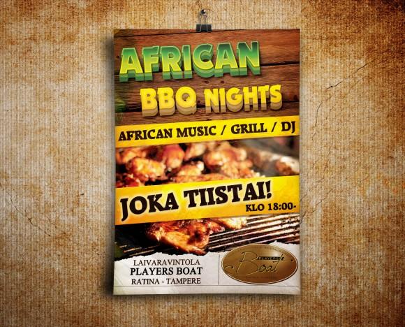 African BBQ Nights
