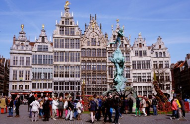 Grote Markt (Town Square) in Antwerpen