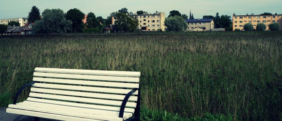 Haapsalu A Lonely Bench