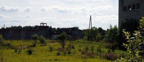 Rummu Estonia Prison Yard
